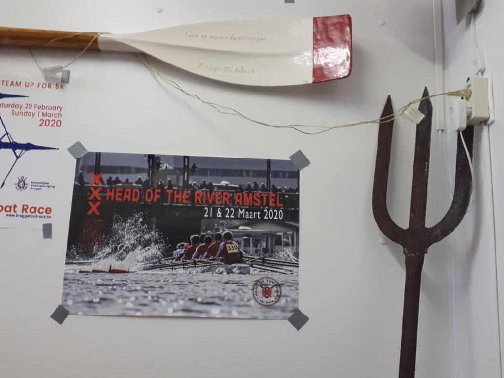 poster bij Neptunus Delfzijl